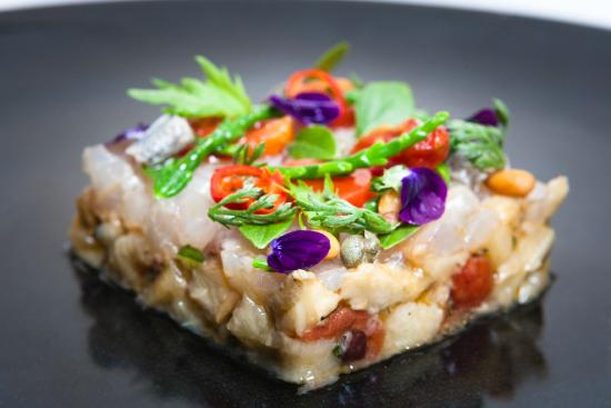 Ristorante Martinelli: Pesce e melanzane