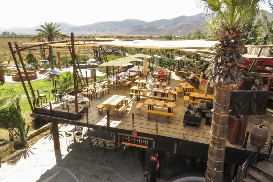 Hotel Boutique Valle De Guadalupe Restaurant Fuego Cocina Del