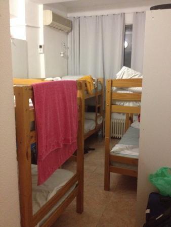 Madrid Motion Hostel: Stanza