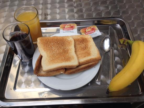 Madrid Motion Hostel: Colazione