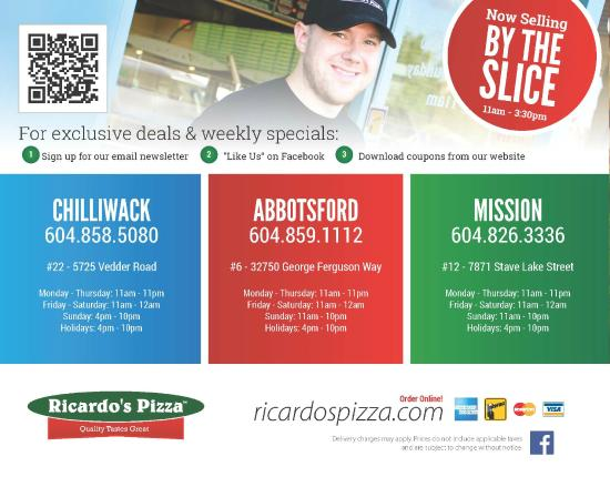 Ricardo's place coupons