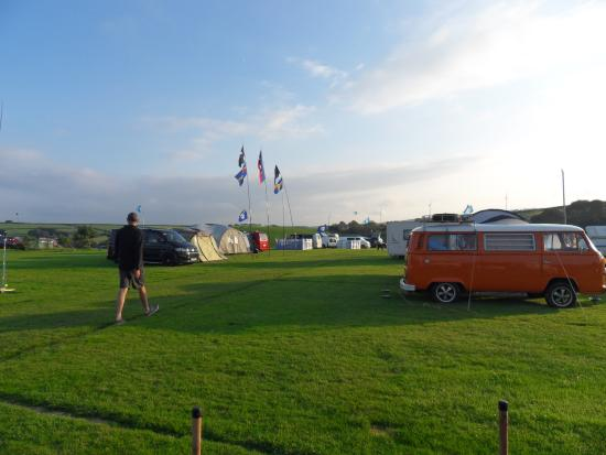 Stowford Farm Meadows: Meadow Rally Field Camping
