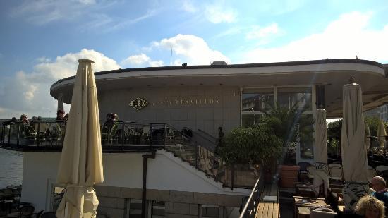 hamburgo alex im alsterpavillon: