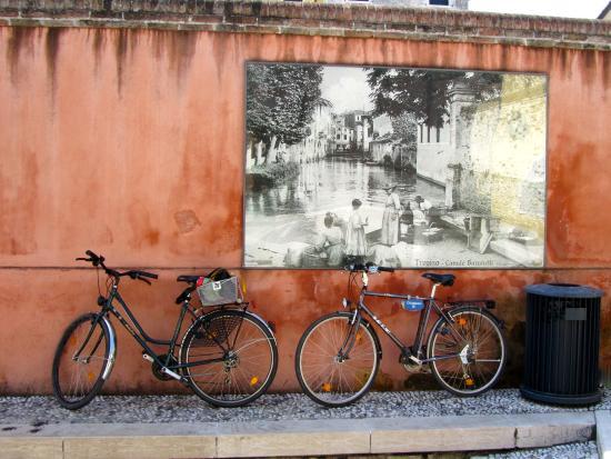 Ca' del' Galletto : Treviso ist eine Radfreundliche Stadt