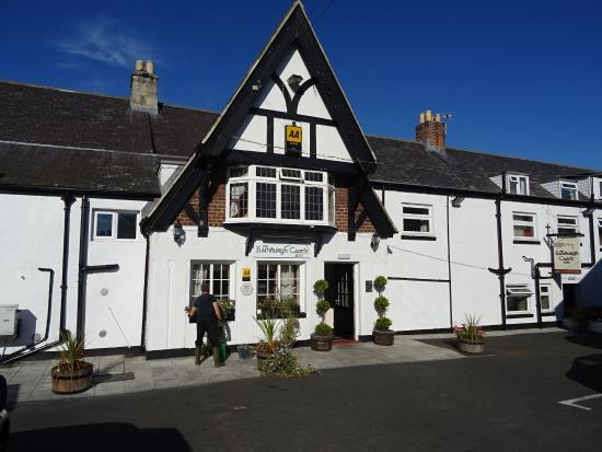 The Bamburgh Castle Inn In Rear Entrance