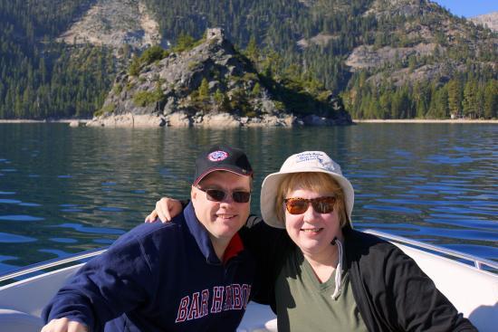 South Lake Tahoe, Kaliforniya: Us in Emerald Bay
