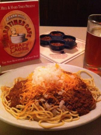 Great Chili Brews Picture Of Hard Times Cafe Alexandria Tripadvisor