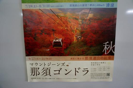 Mt Jeans Nasu : 紅葉シーズンの那須ゴンドラ