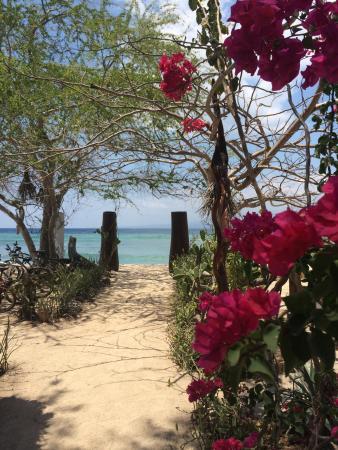 Seri Resort Gili Meno: Access to the beach