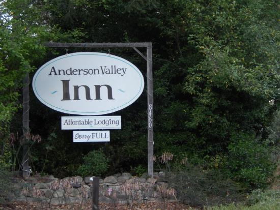 Anderson Valley Inn: Cute, quaint, great value . . .