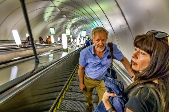 Andrey Vereshhagin- Private Guide in St. Petersburg: Often, the metro is the fastest way to get there