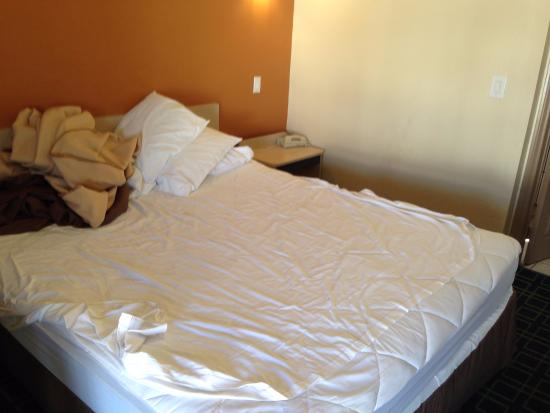 Economy Inn Hollywood: clean bedroom