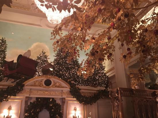 Nyc During Christmas.Lobby During Christmas Time Picture Of The St Regis New