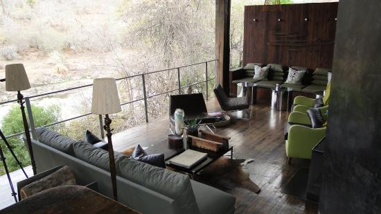Singita Sweni Lodge: Communal area