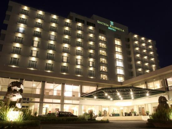 bird s view picture of sintesa peninsula hotel manado tripadvisor rh tripadvisor co uk