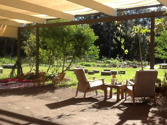Doonan, Австралия: Outside dining