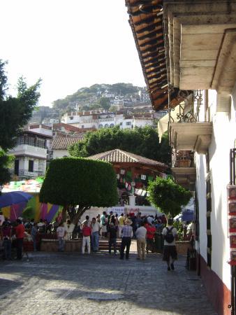 Plaza Borda, La Postal de Taxco
