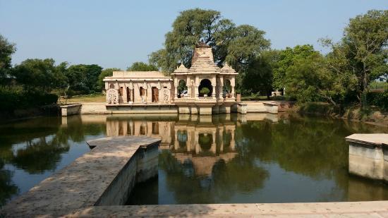 Vrindavan, Indie: Front side