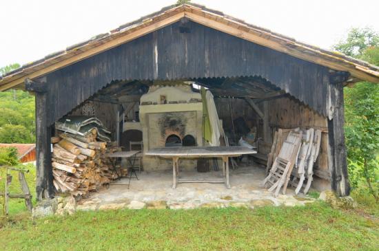 Moulin de Caussarieu : le four à pain