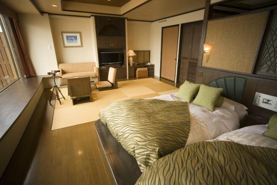 Lake Saroma Tsuruga Resort : 和洋室/Japanese & Western Style Room