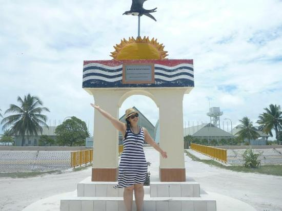 Parliament Building Kiribati