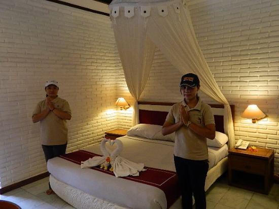 Puri Padi Hotel: staff yang sangat ramah