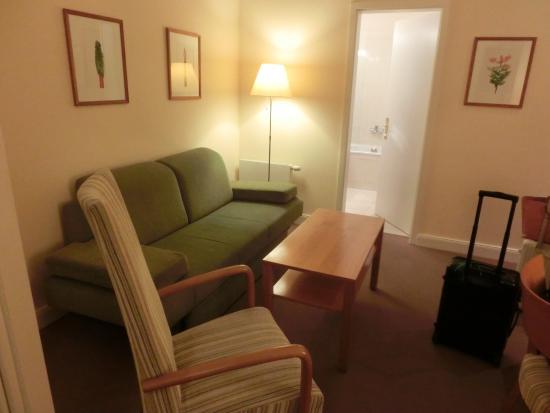 Park Hotel Am Lindenplatz: 26号室のリビング