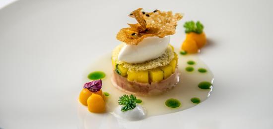 Goldberg Restaurant & Winelounge: extravagant creations