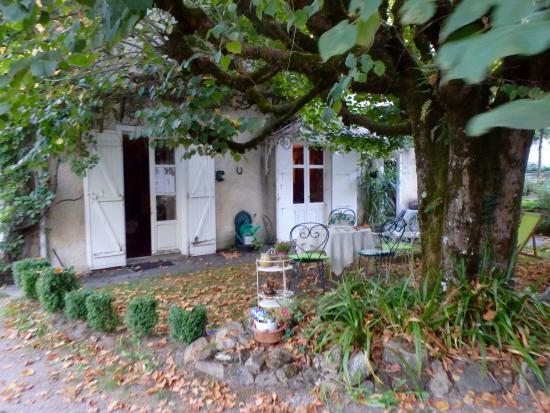Solignac, فرنسا: Garden