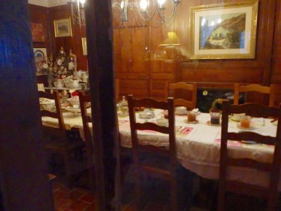 Solignac, فرنسا: Breakfast room