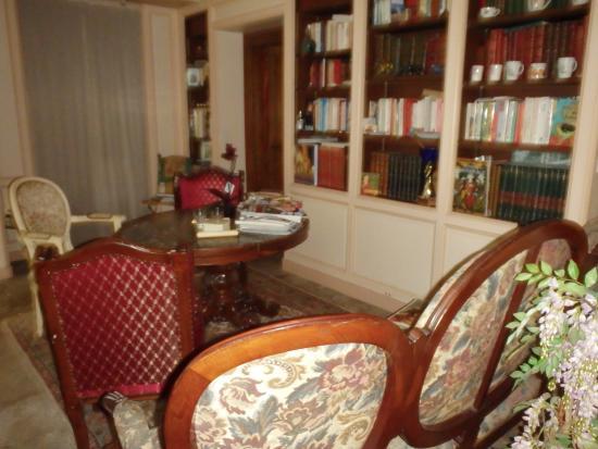 Solignac, فرنسا: Lounge