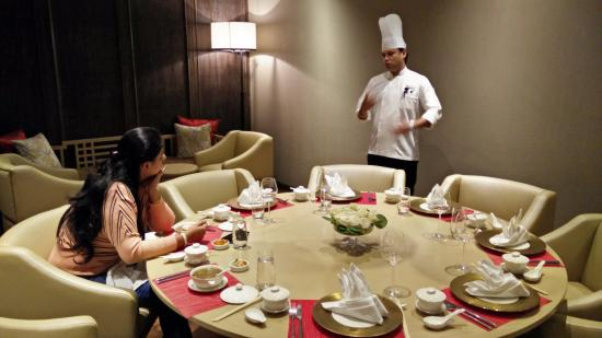 JW Marriott Mussoorie Walnut Grove Resort Spa Private Dining Room At The Teppan