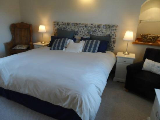 Bridge View B&B and Cottages: Firth View Hopeman Super Kingsize bedroom