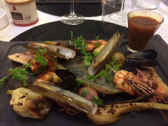 La Table Du Roy: Seafood Menu Platter