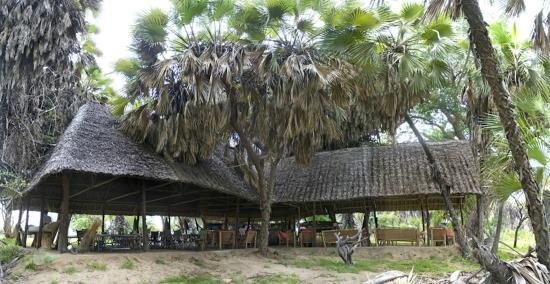 Lake Manze Tented Camp, Selous Game Reserve: Lake Manze - Main Area