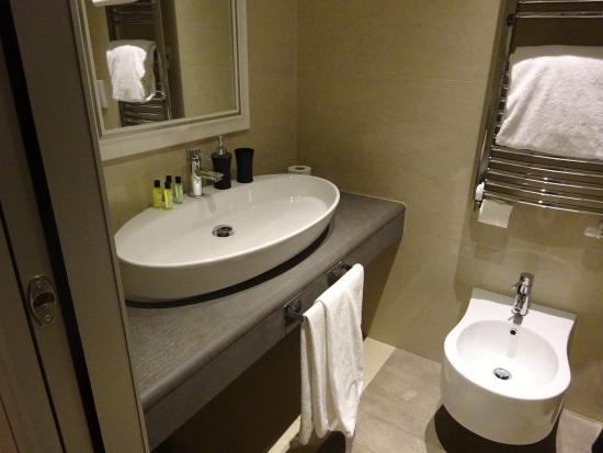 Demetra Hotel: 洗面台