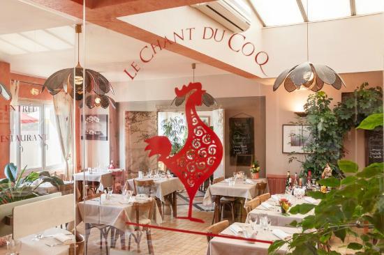 Hotel Au Soleil d'Or : Le chant du coq restaurant hôtel au soleil d'or