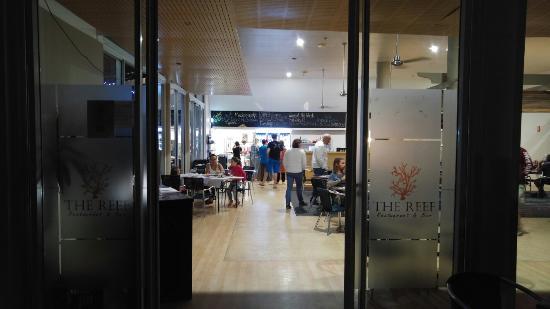 Agnes, Austrália: The Reef Restaurant & Bar