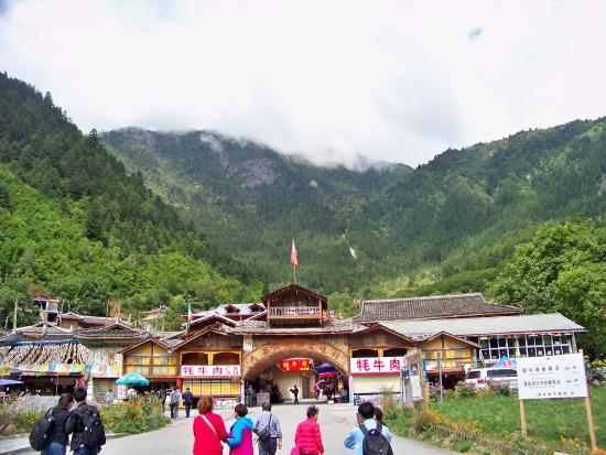 Shuzheng Stockaded Village : Tibetan Village