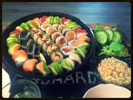 Wasabi Sushi: Take away sushi mjam mjam!