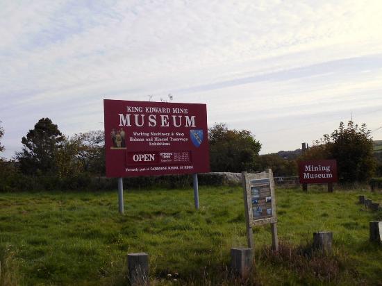 King Edward Mine Museum: Enter here
