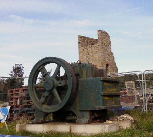 King Edward Mine Museum: Homan equipment