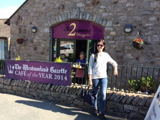 Kendal, UK: At the 2 Sisters Cafe