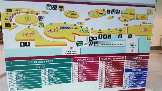d116256b7 Delhi Duty Free  Map. Music. Shops