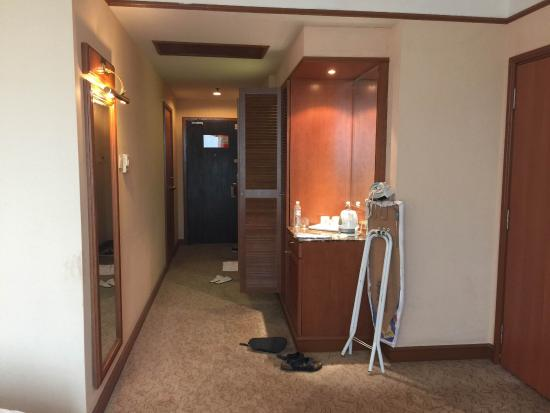 GBW Hotel: บริเวณห้องพัก