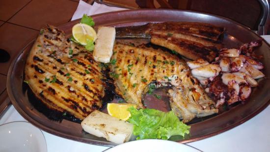 Trattoria Al Faro : la grigliata per 4 persone