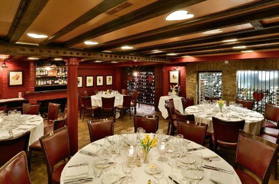Bleeding Heart Restaurant Private Room