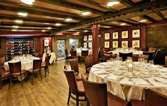 The Red Room | Private Dining - Picture of Bleeding Heart Restaurant ...