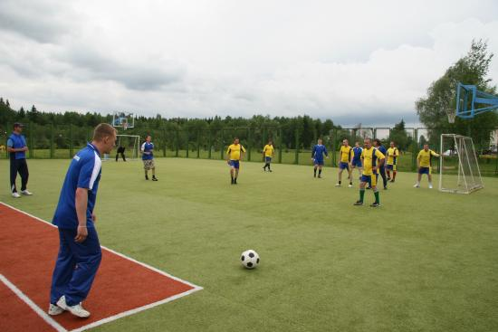 Kostrovo, Rusia: открытая спортивная площадка