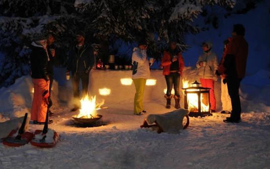 Glühwein evening at the Lodge